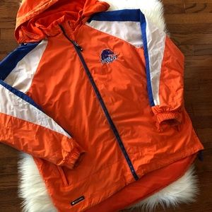 Boise State Broncos Holloway Zip Up Hooded Coat L